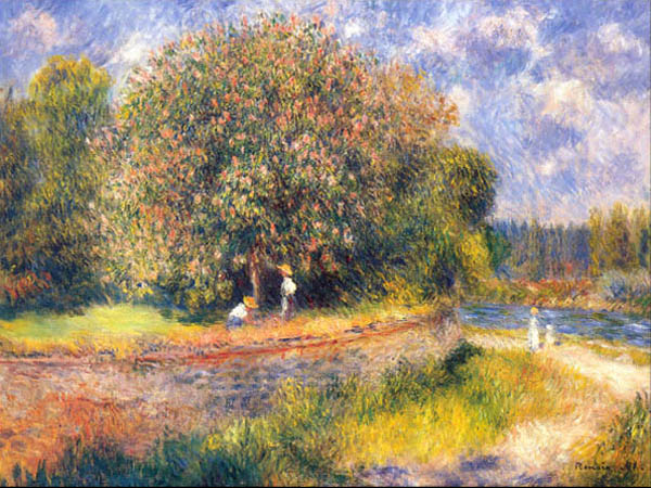 Pierre-Auguste Renoir, Chestnut Tree Blooming