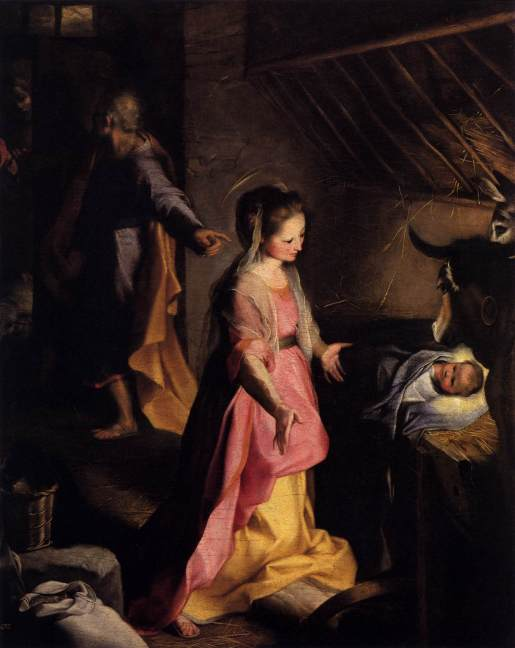 FEDERICO FIORI BAROCCI - THE NATIVITY