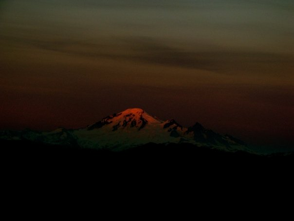 photo of Mt. Baker by Josh Scholten