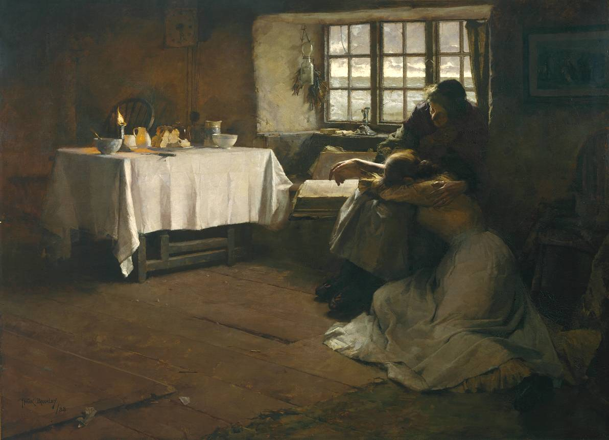 A Hopeless Dawn by Frank Bramley