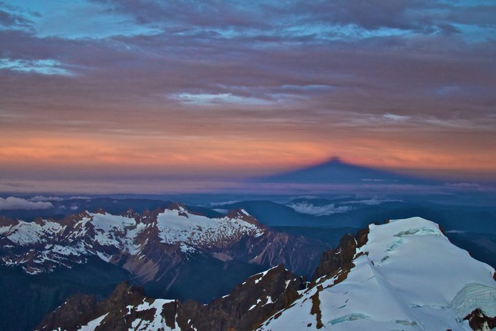 photo from the top of Mt. Baker by Josh Scholten