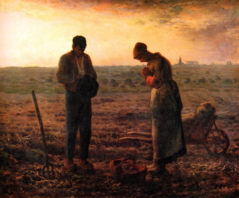 The Angelus by Jean-François Millet