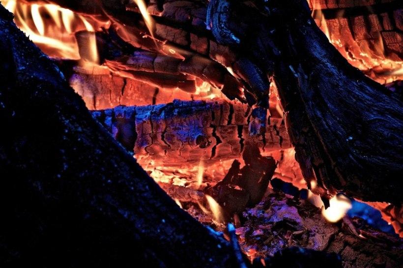 campfire by Josh Scholten