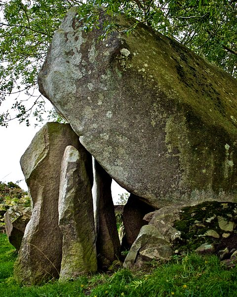 Goward Dolmen at the foot of the Mourne Mountains