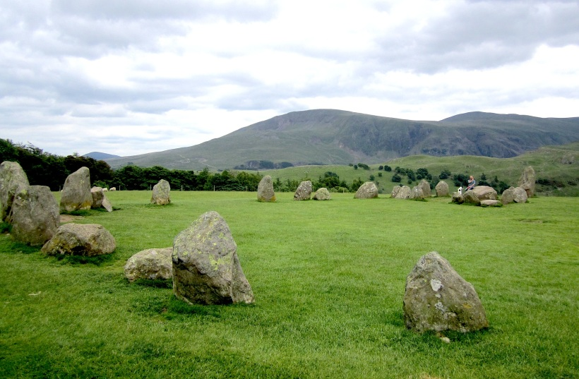 Castlerigg Stone Circle in Cumbria