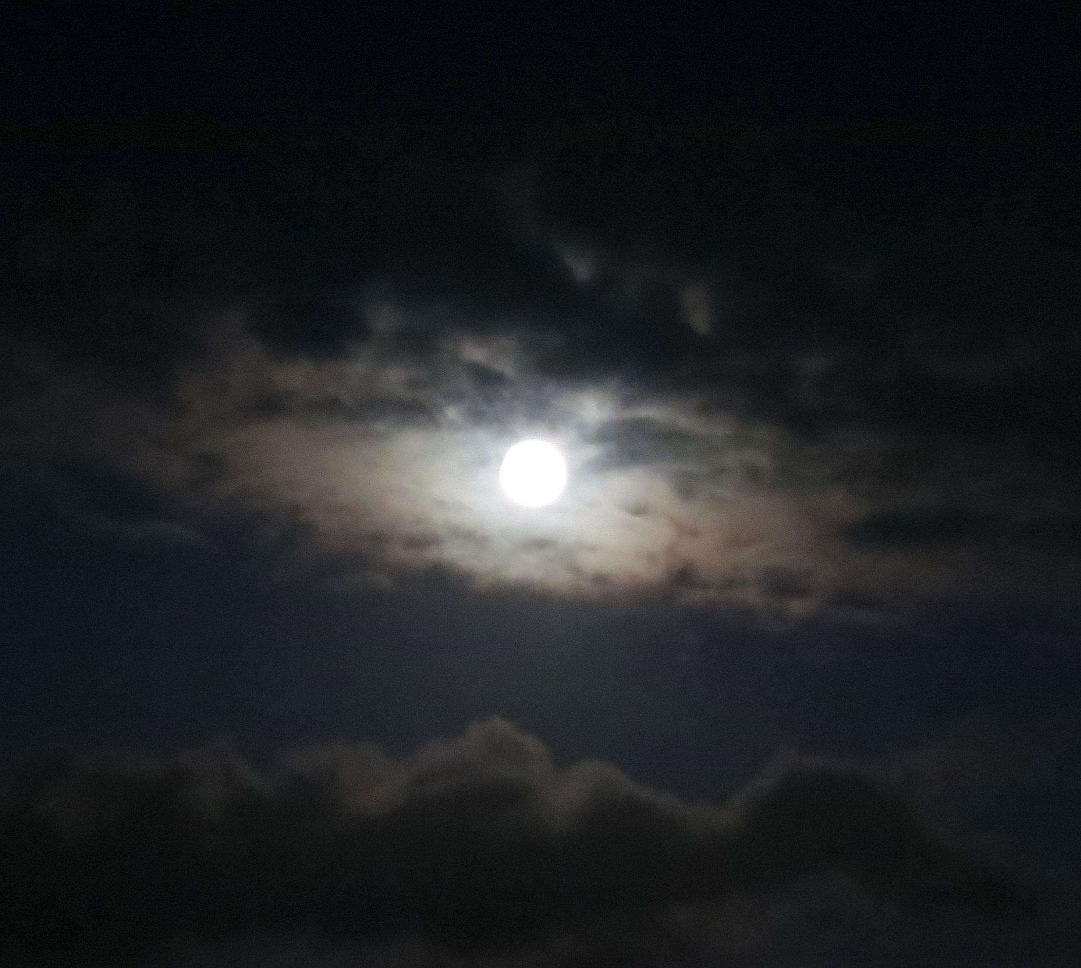 a full moon in Ireland