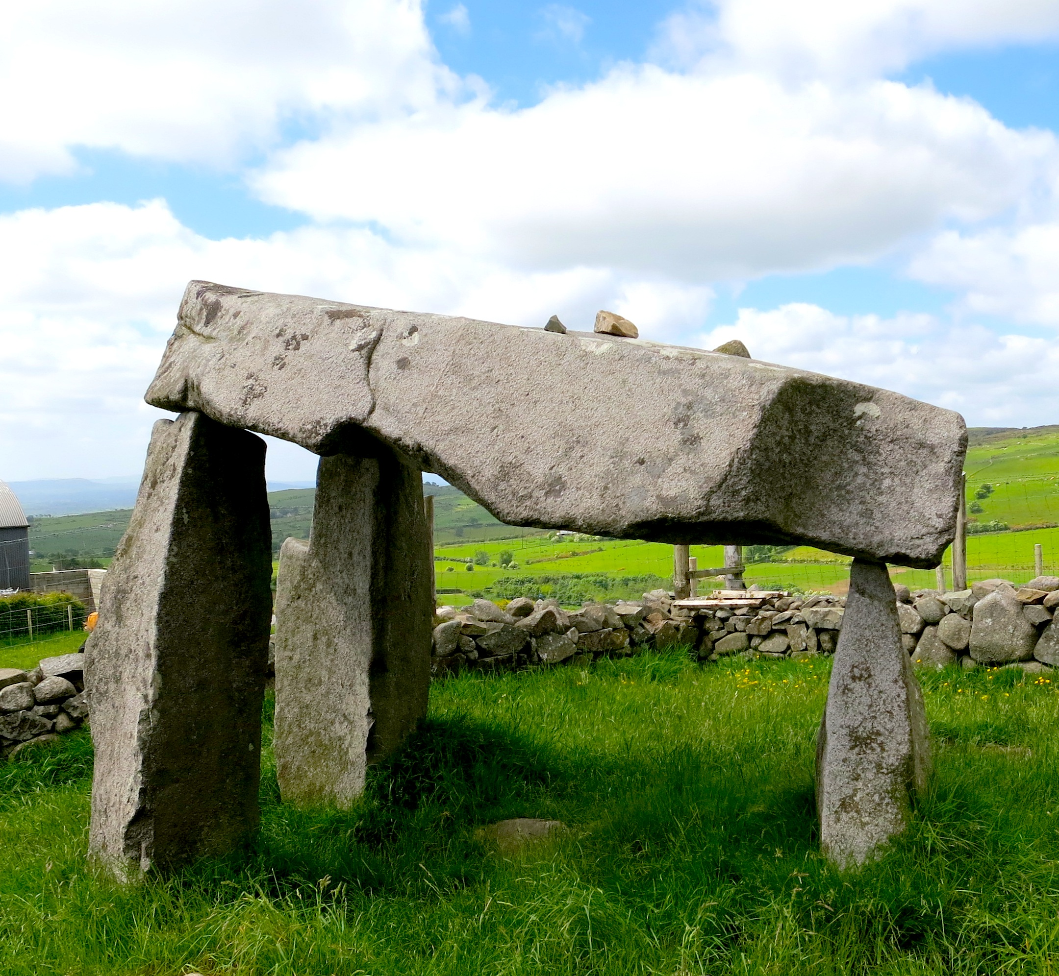 Legananny Dolmen, Northern Ireland
