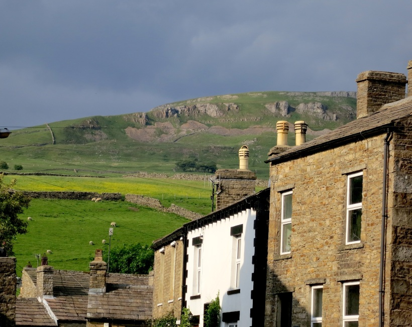 Yorkshire Dales from Askrigg village