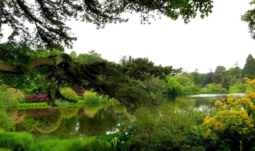 Mount Stewart Garden Lake