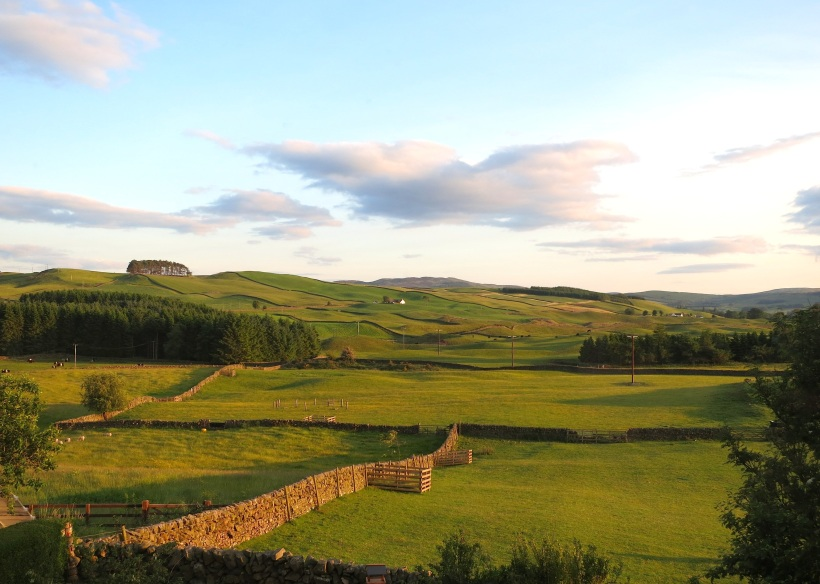 Evening in the Scottish Lowlands