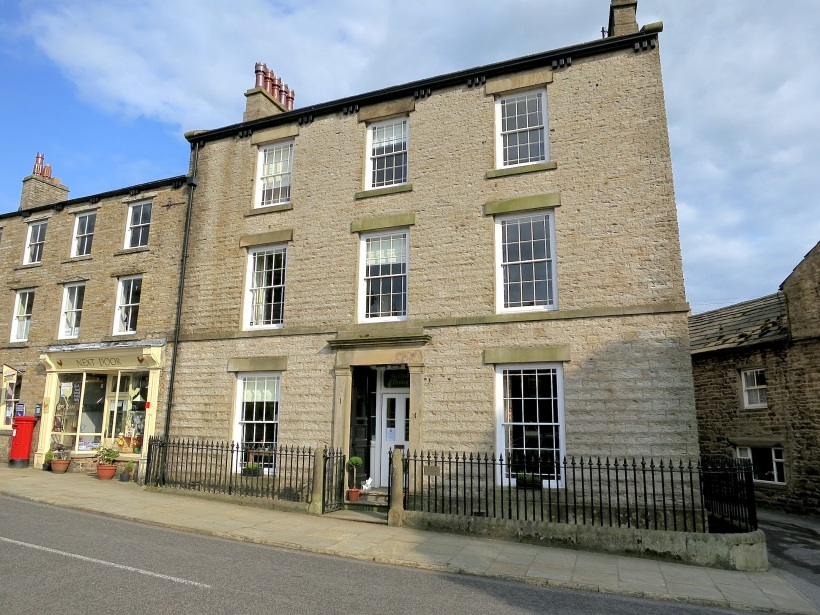 "Skeldale House in Askrigg village, outdoor set for ""All Creatures Great and Small"" TV series"