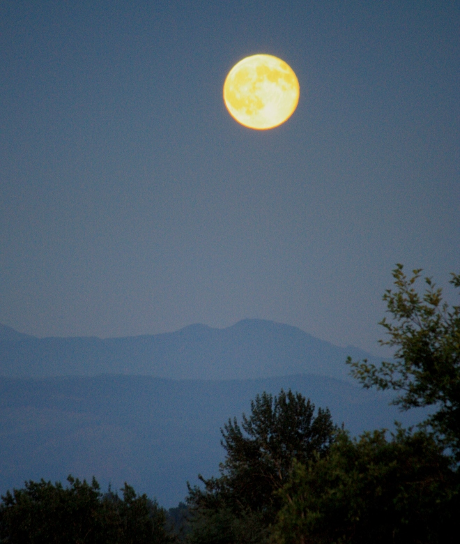 photo of supermoon by Harry Rodenberger