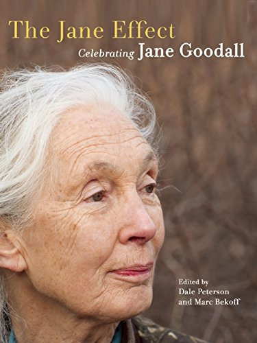 "Cover of ""The Jane Effect -- Celebrating Jane Goodall"" edited by Dale Peterson and Marc Bekoff"