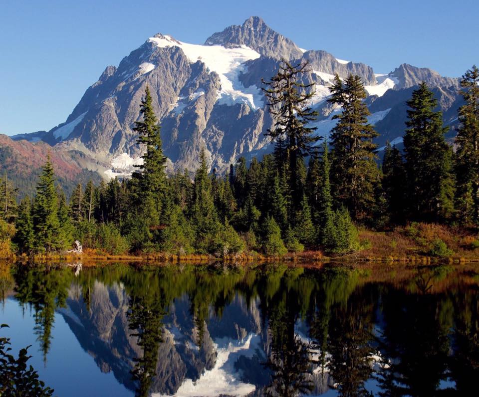 Mt. Shuksan yesterday, photo by Emily Gibson