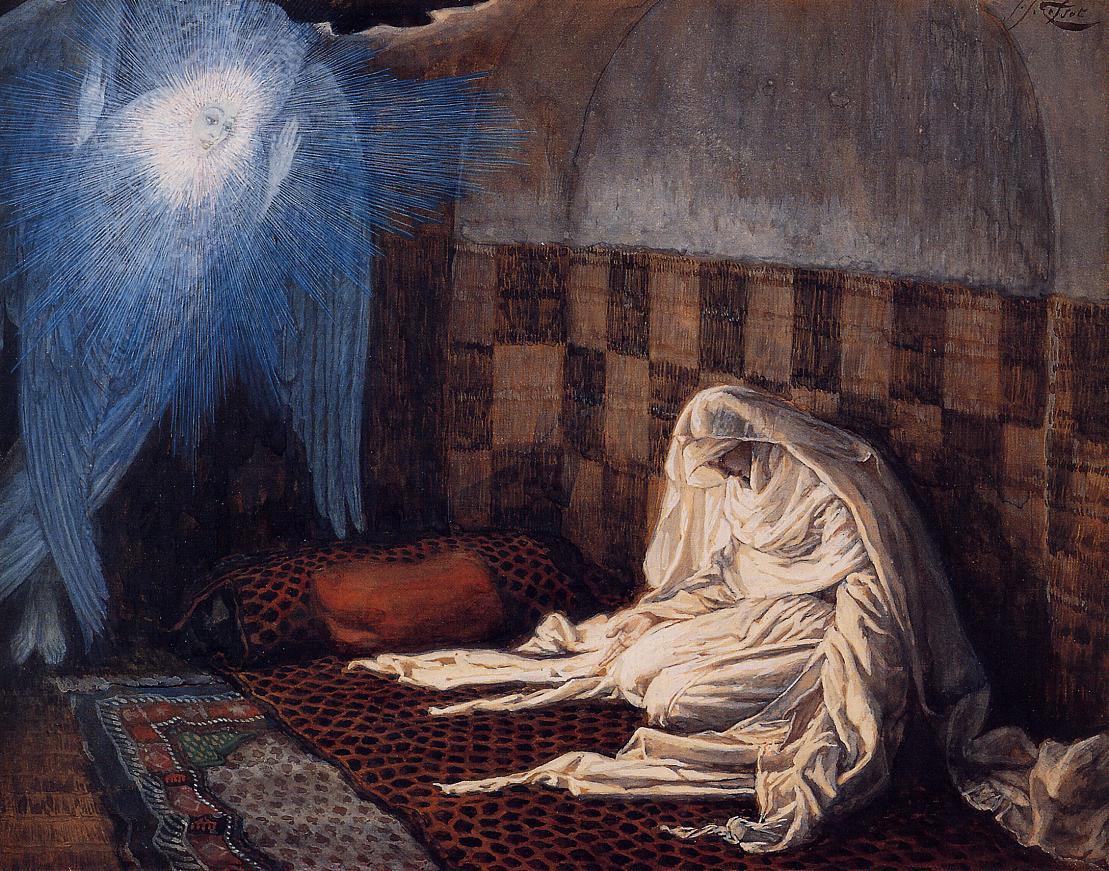 Annunciation --James Tissot
